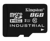 Kingston 8GB microSDHC UHS-I zapis 20MB/s odczyt 90MB/s - 322330 - zdjęcie 1