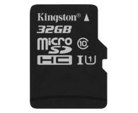 Kingston 32GB microSDHC Class10 +czytnik USB +adapter SDHC - 68285 - zdjęcie 1