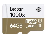 Lexar 64GB microSDXC 1000x 150MB/s + czytnik USB 3.0 - 318648 - zdjęcie 1