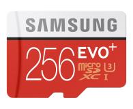 Samsung 256GB microSDXC Evo+ zapis 90MB/s odczyt 95MB/s  - 310212 - zdjęcie 1