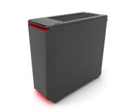 Phanteks Eclipse P400 Tempered Glass czarno-czerwona - 356325 - zdjęcie 3