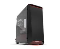 Phanteks Eclipse P400 Tempered Glass czarno-czerwona - 356325 - zdjęcie 1