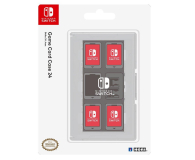 Hori NINTENDO SWITCH GAME CARD CASE 24 (CLEAR) - 357189 - zdjęcie 2