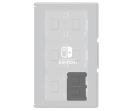 Hori NINTENDO SWITCH GAME CARD CASE 24 (CLEAR) - 357189 - zdjęcie 1