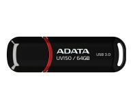 ADATA 64GB DashDrive UV150 czarny (USB 3.1) - 262335 - zdjęcie 1