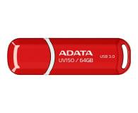 ADATA 64GB DashDrive UV150 czerwony (USB 3.1) - 262334 - zdjęcie 1