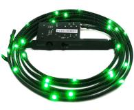 NZXT Zestaw oświetlający LED zielony 2m - 358202 - zdjęcie 1