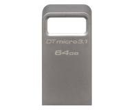 Kingston 64GB DataTraveler Micro 3.1 (USB 3.1) 100MB/s - 247151 - zdjęcie 1