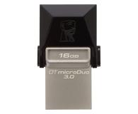 Kingston 16GB DataTraveler microDuo (USB 3.0) OTG - 202775 - zdjęcie 1