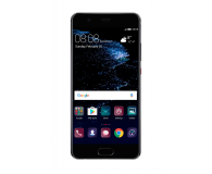 Huawei P10 DS 64GB czarny + Plecki Skóra/Filc ciemnoszary - 359862 - zdjęcie 2