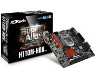 ASRock H110M-HDV R3.0 (PCI-E DDR4 USB3.0) - 354553 - zdjęcie 1
