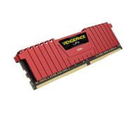 Corsair 32GB 2400MHz Vengeance LPX Red CL16 (4x8GB) - 354778 - zdjęcie 3