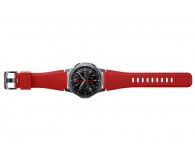 Samsung Silikonowy pasek do Galaxy Gear S3 Czerwony - 360527 - zdjęcie 2