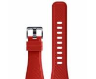 Samsung Silikonowy pasek do Galaxy Gear S3 Czerwony - 360527 - zdjęcie 4