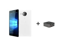 Microsoft Lumia 950 XL LTE biały + Stacja dokująca HD500  - 334472 - zdjęcie 1