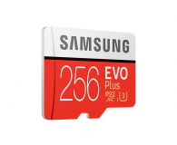 Samsung 256GB microSDXC Evo Plus zapis 90MB/s odcz 100MB/s - 360786 - zdjęcie 2