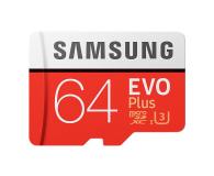 Samsung 64GB microSDXC Evo Plus zapis60MB/s odczyt100MB/s  - 360784 - zdjęcie 1