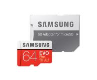 Samsung 64GB microSDXC Evo Plus zapis60MB/s odczyt100MB/s  - 360784 - zdjęcie 3