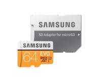 Samsung 64GB microSDXC Evo zapis 60MB/s odczyt 100MB/s  - 360776 - zdjęcie 3