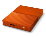 WD My Passport 4TB pomarańczowy USB 3.0 - 337428 - zdjęcie 2