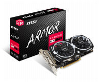 Karta graficzna AMD MSI Radeon RX 570 ARMOR OC 4GB GDDR5