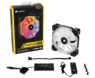 Corsair HD120 RGB LED 3x120mm + kontroler - 359359 - zdjęcie 1