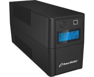 Power Walker VI 650 SE (650VA/360W, 2xSchuko, AVR, USB, LCD) - 359594 - zdjęcie 3