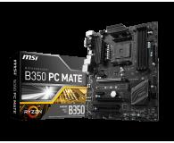 MSI B350 PC MATE (2xPCI-E DDR4 USB3.1/M.2) - 359657 - zdjęcie 1