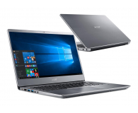 Acer Swift 3 i3-8130U/8GB/240+1TB/Win10 (SF314-54 || NX.H1SEP.001-240SSD M.2)