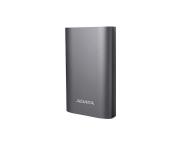 ADATA Power Bank 10050 mAh tytanowy z quickcharge (AA10050QC-USBC-5V-CTI)
