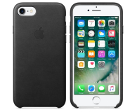 Apple Leather Case do iPhone 7 Black (MMY52ZM/A)