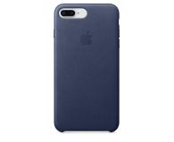 Apple Leather Case do iPhone 7/8 Plus Midnight Blue (MQHL2ZM/A)