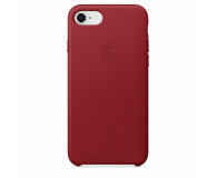 Apple Leather Case do iPhone 7/8 (PRODUCT) RED (MQHA2ZM/A)