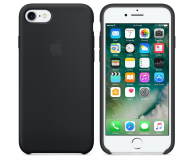 Apple Silicone Case do iPhone 7 Black (MMW82ZM/A)