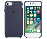 Apple Silicone Case do iPhone 7 Midnight Blue (MMWK2ZM/A)