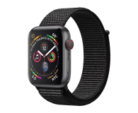 Apple Watch 4 44/SpaceGray Aluminium/BlackSport Loop LTE (MTVV2WB/A)