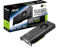 ASUS GeForce GTX 1060 Turbo 6GB GDDR5  (TURBO-GTX1060-6G )