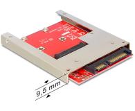 "Delock Adapter/ramka SATA 22PIN -> mSATA 2.5"" (61892)"