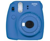 Fujifilm Instax Mini 9 ciemno-niebieski + 10PK + pokrowiec (5036321125318)