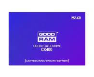 GOODRAM 256GB 2,5'' SATA SSD CX400 ANNIVERSARY EDITION (SSDPR-CX400-256-A)