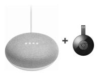 Google Home Mini + Chromecast 2015 (403060 + 273837)