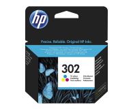HP 302 F6U65AE CMY color 165str. (DeskJet 1110/2130/4650)