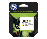 HP 302XL F6U67AE CMY color 330str. (DeskJet 1110/2130/3630/4520/3830/4650)