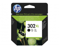 HP 302XL F6U68AE black 480str.  (DeskJet 1110/2130/3630/4520/3830/4650)