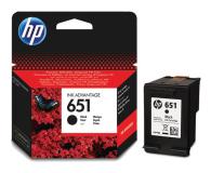 HP 651 C2P10AE czarny 600str. (DeskJet 5575/5645)