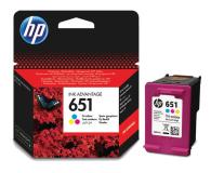 HP 651 C2P11AE CMY kolor 300str. (DeskJet 5575/5645)