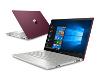 HP Pavilion 15 i5-8250U/8GB/256/W10/IPS MX150  (15-cs0007nw (4UC56EA)-Burgundy)