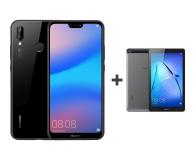 Huawei P20 Lite Dual SIM 64GB Czarny + tablet (Anne-L21 Black+BG2-W09 SPACE GREY)