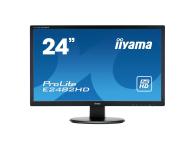 iiyama E2482HD czarny  (E2482HD-B1)