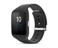 Inteligentny zegarek / opaska Sony SmartWatch 3 Silicon SWR50 czarny 1287-4372